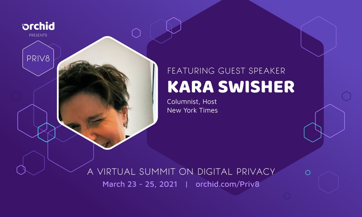 NYT's Kara Swisher will speak at Priv8