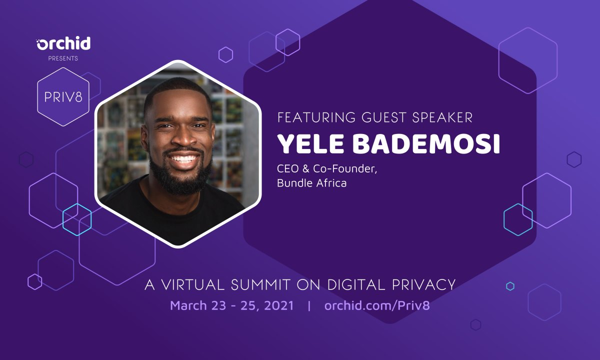 Yele Bademosi joins Priv8's expanding roster of speakers