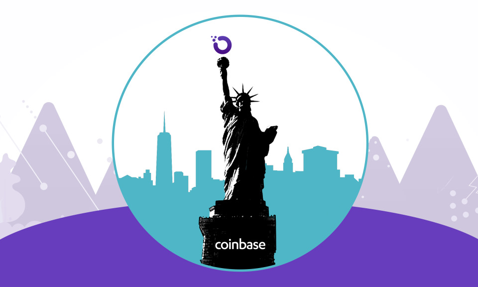 OXT Hops Into New York With Coinbase